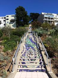16th Avenue Tiled Steps Project by 16th Avenue Tiled Steps A Hidden Treasure In San Francisco