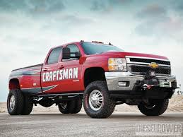 100 Chevy 3500 Truck Craftsman Edition 2011 Silverado HD Diesel Power Magazine