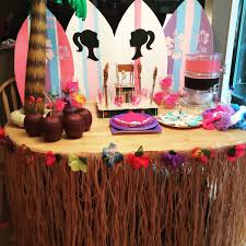 Barbie Surf Party Ideas Barbie Party Barbie Birthday Party Party