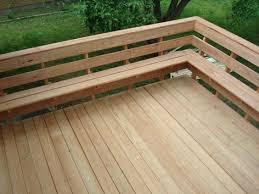 Wood Bench Designs Decks by Best 25 Patio Bench Ideas On Pinterest Fire Pit Gazebo Pallet