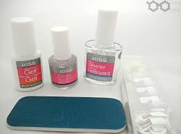 Kiss Uv Gel Lamp Walmart by Review Tutorial Kiss Brush On Gel Nail Kit Rouge Geek