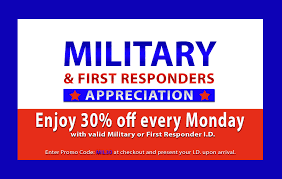 Military Mondays At 13th Gate Escape