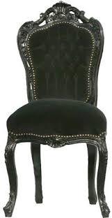 barock esszimmer stuhl schwarz schwarz ludwig xiv stuhl