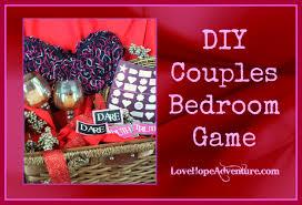 Diy Couples Bedroom Game