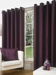 Faux Silk Eyelet Curtains by 66x108in 168x274cm Charcoal Slate Grey Faux Silk Eyelet Curtains