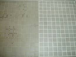 cleaning floor tiles and grout on floor inside cleaning grout