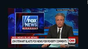 Jon Stewart Blasts Fox News Over Obama Jab