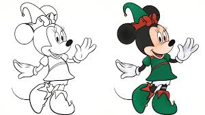 Disney Jr Halloween Coloring Pages by Minnie Mouse Winter Season 3d Coloring Video Disney Junior