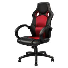 US $74.99 |Giantex Modern Office Chair Racing High Back Gaming Chair  Ergonomic Computer Desk Armchair Office Furniture HW54590RE On  Aliexpress.com | ... Dxracer Rw106 Racing Series Gaming Chair White Ohrw106nwca Ofm Essentials Style Faux Leather Highback New Padding Ueblack Item 725999 Ascari Ai01 Black Office Official Website Pc Game Big And Tall Synthetic Gaming Chair Computer Best Budget Chairs Rlgear Shield Chairs Top Quality For U Dxracereu Details About Video High Back Ergonomic Recliner Desk Seat Footrest Openwheeler Simulator Driving Simulator Costway Wlumbar Support