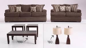 Bobs Furniture Miranda Living Room Set by El Sofa Miranda Bob U0027s Discount Furniture Youtube