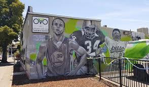 warriors murals in oakland
