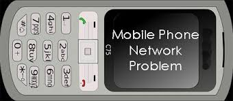 No Network Signal in Mobile Phone