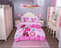 Minnie Mouse Bedroom Decor by Pink Minnie Mouse Bedding Sets For U0027s Bedroom Decor Cartoon
