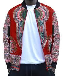 makkrom men u0027s long sleeve floral dashiki zippered jacket at amazon