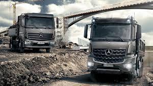 100 Types Of Construction Trucks Atego MercedesBenz UK