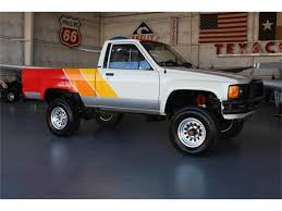 1985 Toyota Truck For Sale 1985 Toyota 4x4 Pickup Truck Solid Axle Efi 22re 4wd Presented As Lot W174 At Indianapolis In Pickup With 22000 Original Miles Nice Price Or Crack Pipe 25kmile 4wd 6000 Was The 4runner Best Suv Of 80s Awesome Toyota 2wd Manual 5speed Potrait Hard Trim Heres Exactly What It Cost To Buy And Repair An Old Fs Norrock 22re Solid Axle Yotatech Forums Classic Car Longview Wa 98632 Truck 44 Lifted X Fresh Paint