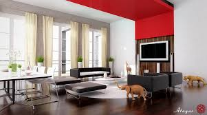 Red Living Room Ideas by A Living Room Design Completure Co