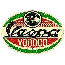 VESPA STICKER RACE RETRO SURF VW OLD SCHOOL VINTAGE