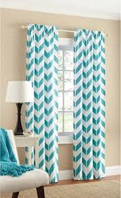 Teal Blackout Curtains Canada by Amazon Com Teal Chevron Panel Pair Two Panels 84