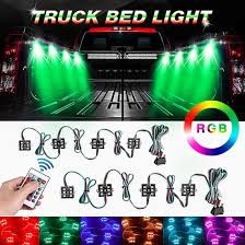 100 Trucks Powerblock Amazoncom BORDAN 2PCS RGB Rock Light For LED Truck Bed