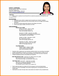 Call Center Resume Sample Beautiful 5 In Philippines Of 18