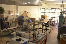 inside finally light bulb company lab