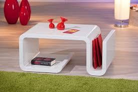 couchtisch design tisch beistelltisch wohnzimmer zara hochglanz weiß