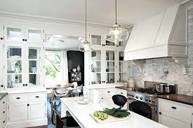 clear glass pendant lights for kitchen island industrial farmhouse