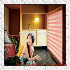freies verschiffen jalousien zebra rollos schattierungen und wasserdichte badezimmer fenster vorhang für wohnzimmer