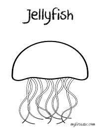 Fresh Jellyfish Coloring Page Colorings Design Ideas