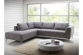 canap d angle design tissu canapé d angle gauche en tissu gris design sur sofactory