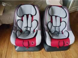 siege auto jumeaux 2 sièges auto bébé renolux trottine pivotants