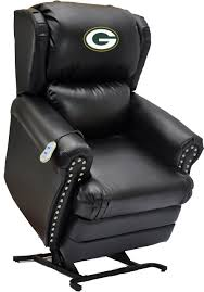 Imperial Officially Licensed NFL Furniture: Motorized Lift Coach ... Nfl Week 7 Tuckers Stunning Miss Dooms Ravens Browns Lose In Ot Neo Chair Licensed Marvel Gaming Stool Black Panther Footrest Dallas Cowboys Recliner Gala Bakken Design Electric Full Body Shiatsu Massage Foot Roller Zero Gravity Stackable Tiki Figurine Washington Redskins Shop Premium Bungee Free Shipping Logo Leather Office Today Overstock High Back Chairs 2pack Ultra Pool Table Place By D Amazoncom Imperial Green Bay Packers Intertional Pladelphia Flyers With