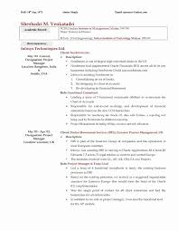 Gallery Of Sample Resume With No Experience Unique 30 New For Career Change