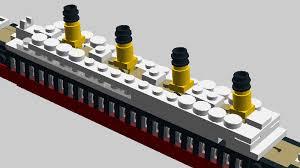 moc mini rms titanic special lego themes eurobricks forums