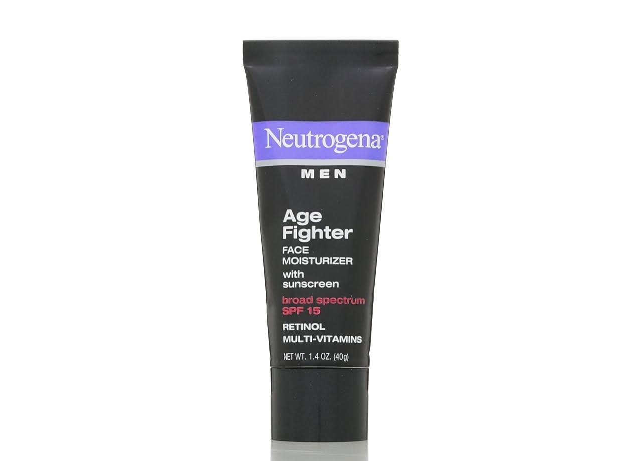 Neutrogena Men Age Fighter Face Moisturizer - SPF 15, 1.4oz
