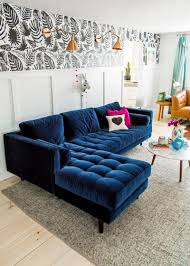 100 Sofa Living Room Modern 25 Stunning S With Blue Velvet S Dream Home Blue