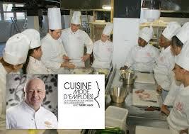ecole cuisine de education besançon l école de cuisine de thierry marx recrute des