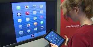 Mirroring your iPhone or iPad s screen using Barco