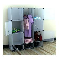 Closet Portable Storage Wardrobe Collapsible Clothes Rack Portable