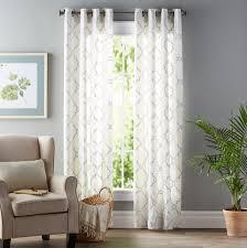 Three Posts Winnett Geometric Grommet Single Curtain Panel Reviews