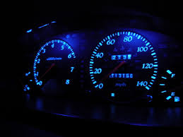 how do i make my stock dash lights blue with out getting indaglos