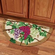 Wine And Grapes Kitchen Decor by Kitchen Rugs Unforgettable Grape Rugs Kitchen Picture Concept