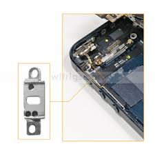 OEM Mute Button Fastening Metal Bracket for iphone 5 Witrigs