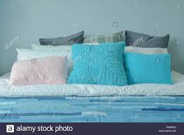 Blue Color Scheme Teenager Bedroom With Colorful Pillows On ... How To Pick Perfect Decorative Throw Pillows For Your Sofa Lovesac Giant Pillow Chair Purewow Maritime Bean Bag 9 Cool Bedroom Ideas For Teenagers Overstockcom Cozy Papasan Astoldbymichelle Pasanchair Alluring Beach Themed Room Decorating Hotel Kid Bedroom Apartment Decor Boy Sets Bench Small White Cheap Teen Find Deals On 37 Design Teenage Girl And Cute Kids Ivy 54 Stylish Nursery Architectural Digest