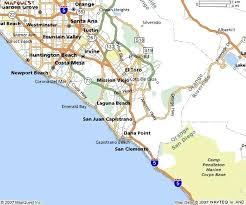Cities In Map Southern Beach City Maps Orange County X California With Areas Northern