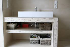 waschtischunterschrank fur aufsatzwaschbecken selber bauen