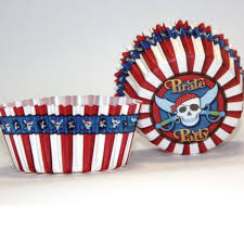 Pirate Party Cupcake Cases