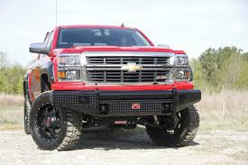 Black Steel Front Ranch Bumper - Aftermarket Truck Accessories