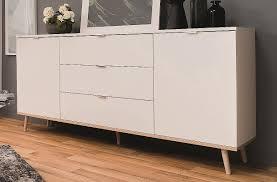 kommode sideboard oslo skandinavisch weiß sonoma eiche